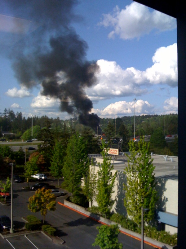 Factoria, WA Structural Fire Today