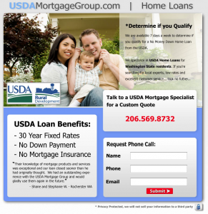 adwords landing page