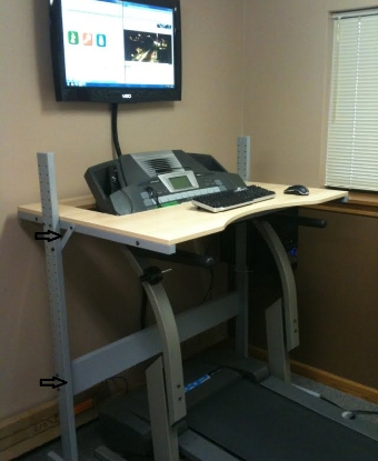 Treadmill Desk DIY - Do it Yourself - NOT!