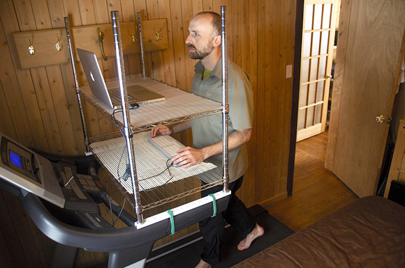 Do It Yourself Home Design: Read Treadmill Desk Reviews From Joel