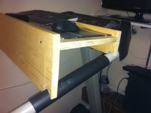 Do It Yourself Workstation Treadmill