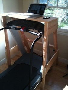 Treadmill Desk Sawhorse