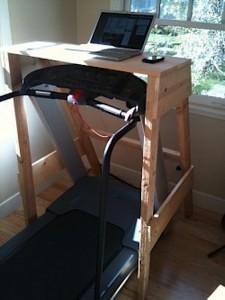 Treadmill Desk Sawhorse