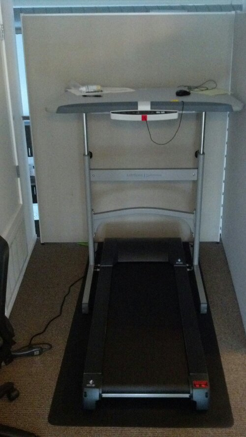 My Lifespan Fitness Treadmill Desk TR1200 DT-S. I love it!