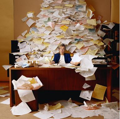 Enterpreneur Overwhelmed