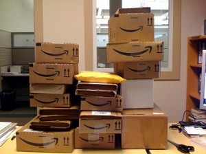 Amazon box packages