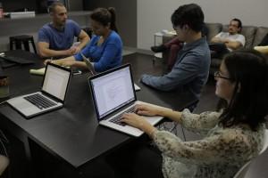 Coalition Web Designers Brainstorm