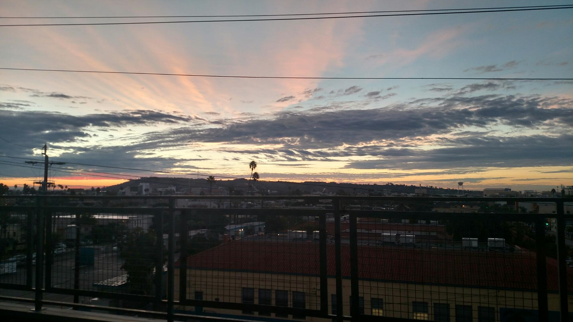 Los Angeles Sun Rise