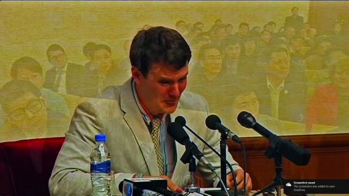 Otto Warmbier, American college student at the University of Virginia who was tortured into a coma by Kim Jong Un and later died